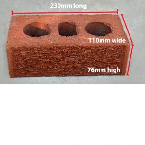 australian brick dimensions