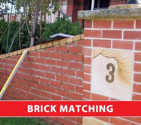 brick matching sydney